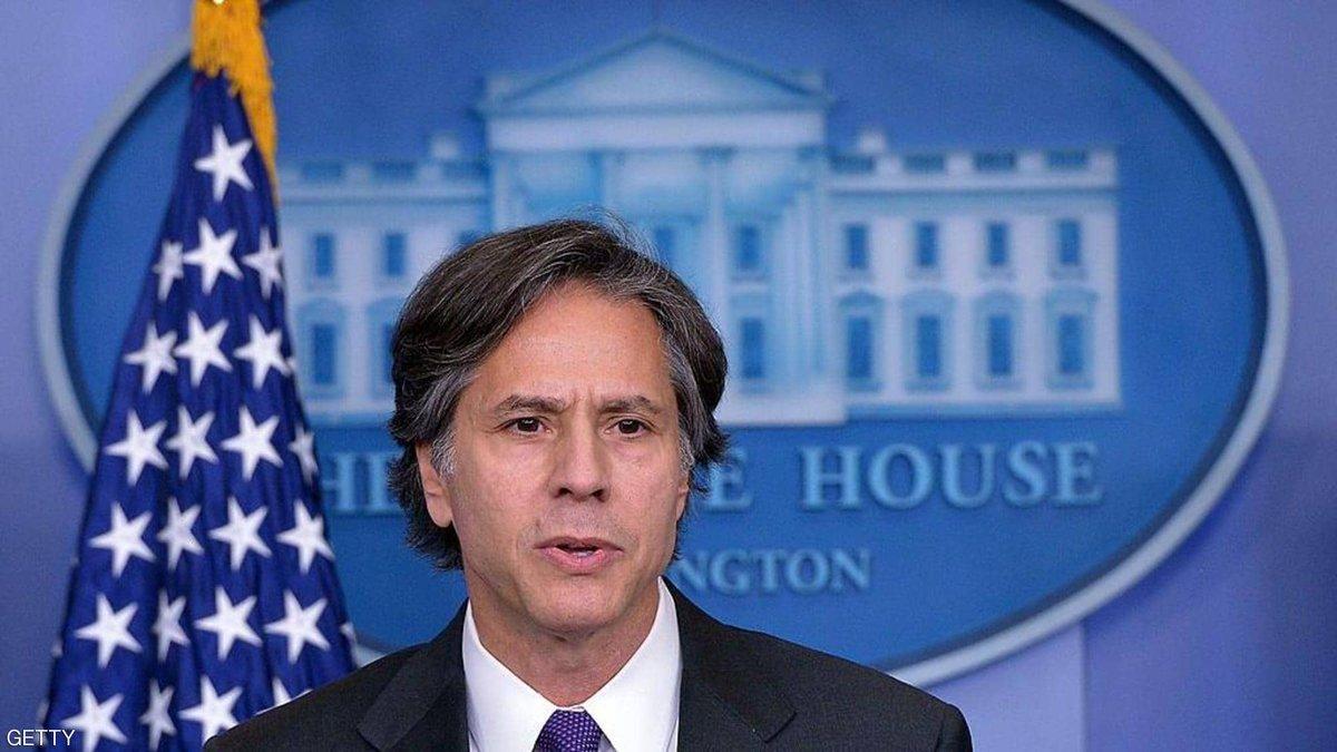 """#أمريكا  المصادقة على """"أنتوني بلينكن"""" وزيراً للخارجية الأمريكية في حكومة بايدن."""