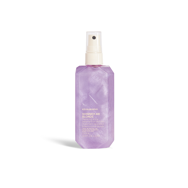 While SHIMMER.SHINE is great for all #hair types,  #BLONDE is specifically formulated for blonde or #highlighted #hair with a lavender hint. #KevinMurphy #lovekm  Click here to keep reading: