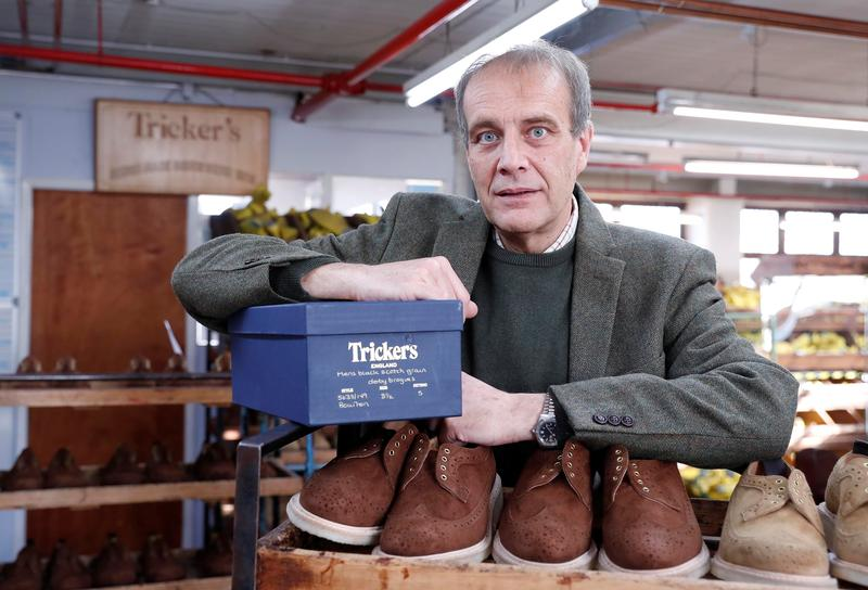 Historic English shoe-maker counts the costs of Brexit