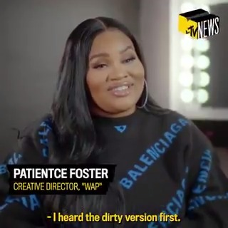 As creative director for @iamcardib's #WAP, Patientce Foster (@iamkingpee) brought the biggest video of 2020 to life. But she didn't get here on luck. She's had a plan since day one, and she let @Dometi_ in on the vision for #MTVTheMethod.  Watch here: