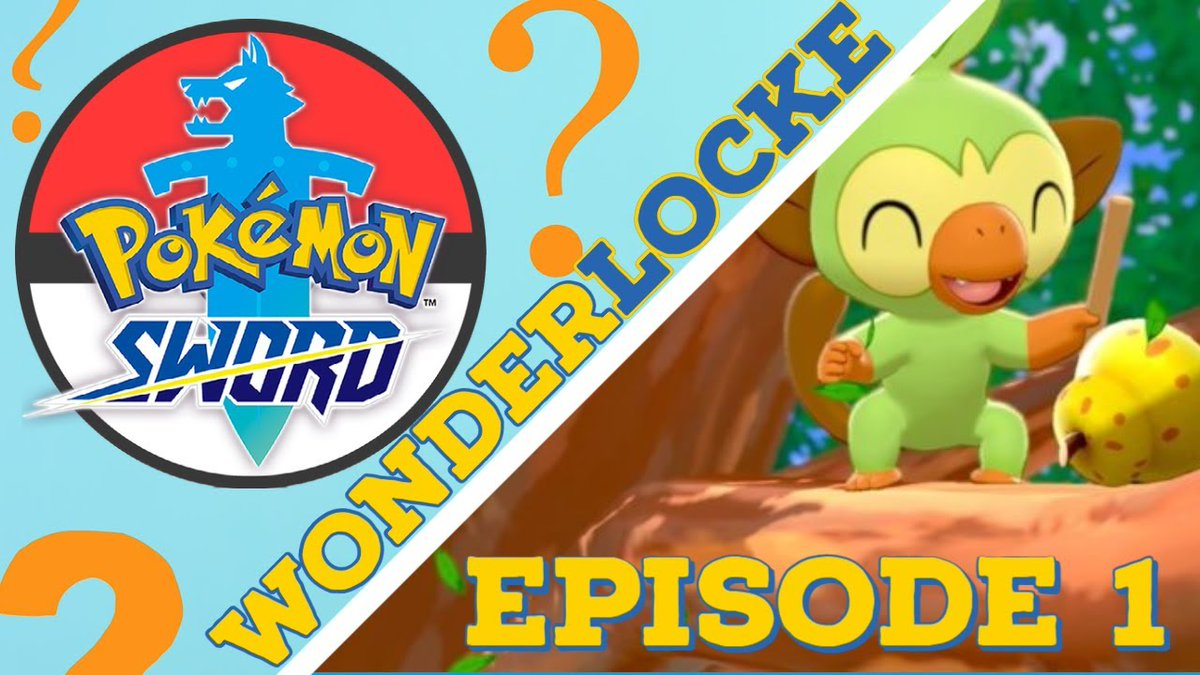 Our first ever Wonderlocke episode is now live! We kick off our adventure in Galar with @Pokemon that won't be ours for long! Fs in chat for my future squad 💀     #Pokemon #PokemonSwordShield #Pokemon25 #Nuzlocke #twitchstreamer #YouTube #Nintendo