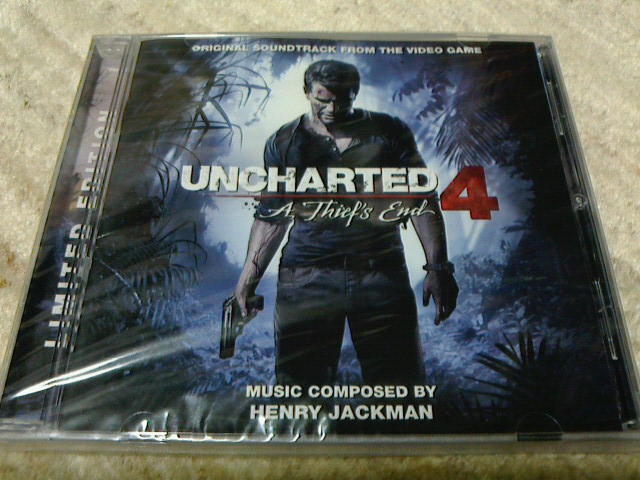 Replying to @BBJGMG: Thank you @LaLaLandRecords :) UNCHARTED 4: A THIEF'S END (Henry Jackman) #soundtrack