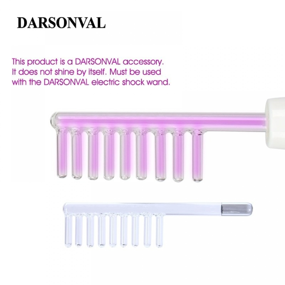 #hair #specialists #wigs #extensions #eyelashes #lashes #goodies #straight #remy #curly #love #salon #hairaccessories #hairproducts #lovehair #bodypositive Darsonval Glass Tube Hair Comb