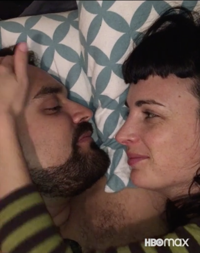 """Monogamy isn't for everyone... and open relationships aren't either 😬 Ollie and Zoe explore the complexities of love in There Is No """"I"""" In Threesome, streaming February 11 on HBO Max. #ThreesomeDocHBOMax"""