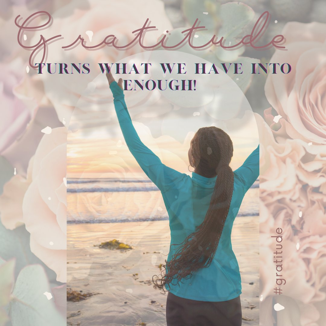 As we're still settling into a new year, let's remember to be grateful for the little things life hands us.  #Grateful #YogaCare #Yogaforall https://t.co/u2Rk94ONZn