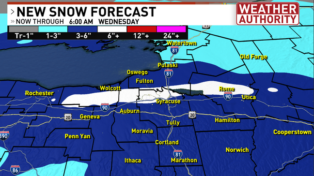 When you live in @Syracuse1848 @OnondagaCounty or anywhere in #cny this is just a way of life in the #winter - How much are you seeing in your backyard today?  @CNYCentral @WayneStormWatch @PeteWeatherBeat @MikeBrookins @sydsully @LydiaKnoxWX