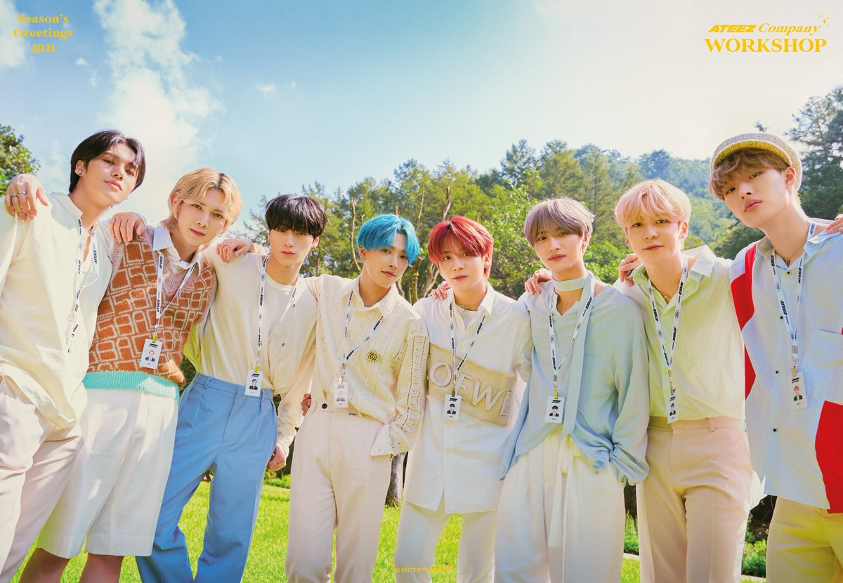""".@ATEEZofficial currently has a streak of 20 weeks on the @MTV #FridayLivestream.   Request the group by tweeting """"REQUEST @ATEEZofficial @MTV #FridayLivestream"""""""