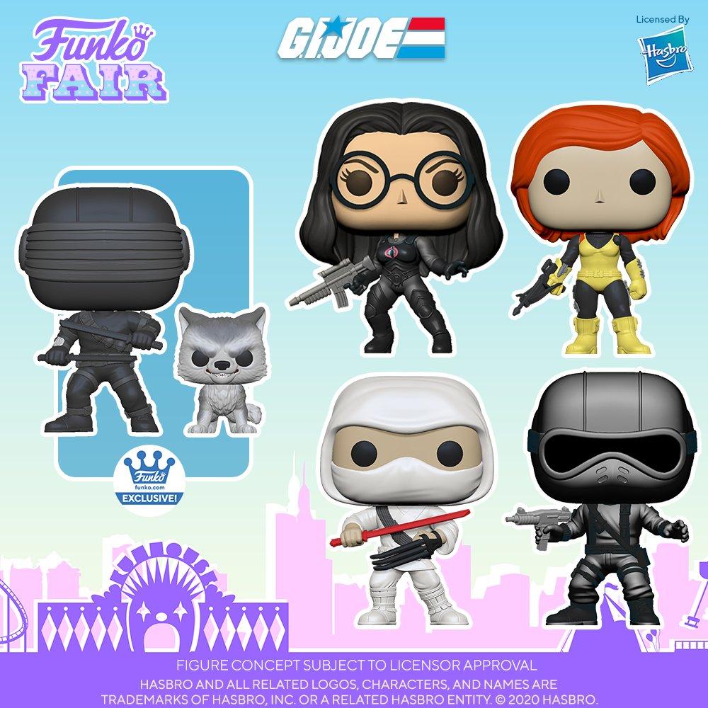 .@OriginalFunko Fair 2021: G.I Joe. Prepare your Pop! collection to defend the world from Cobra, pre-order now!    #Funko #GIJOE #FunkoFair