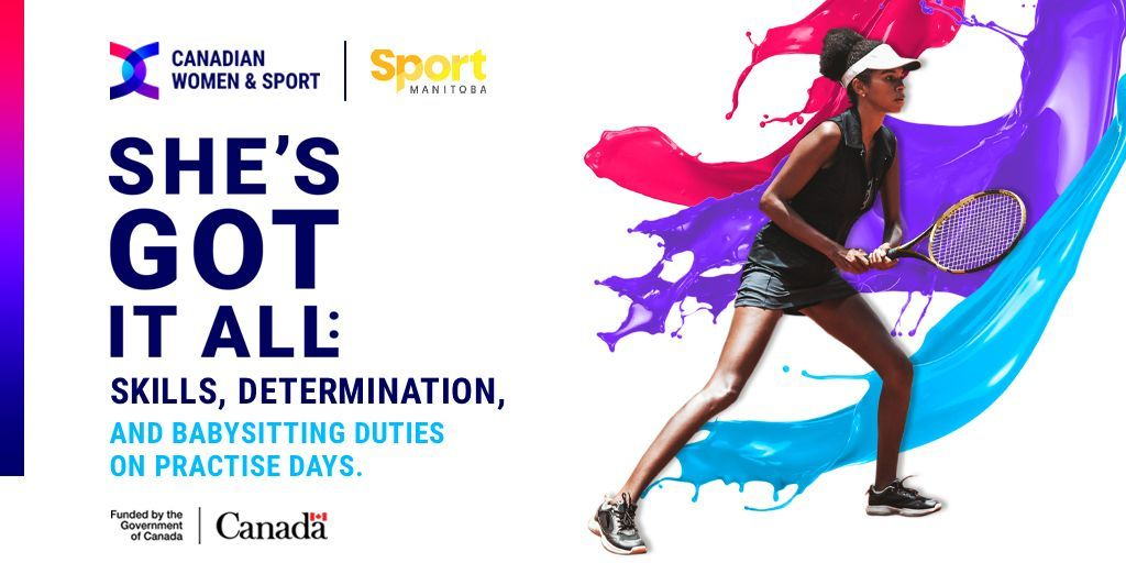 Girls are often expected to take care of their younger siblings, which can prevent them from participating in sport. Unless programs address this barrier, girls miss out on the fun that playing sports can provide. Let's change the game at buff.ly/3kL9P2Z @WomenandSportCA