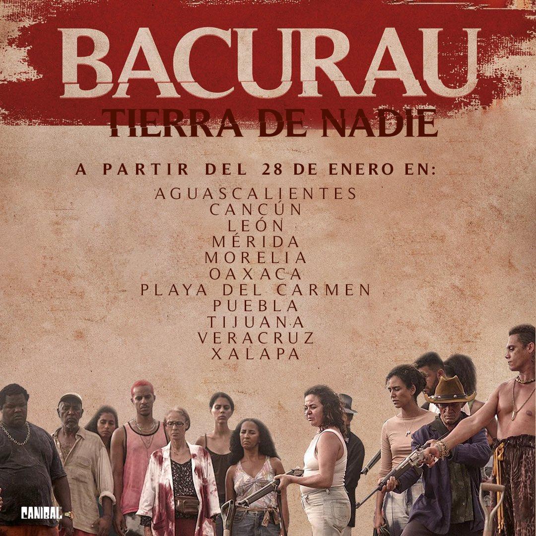 #Bacurau: Tierra de nadie ha sido nominada en los #SpiritAwards en la categoría: Mejor película internacional. 👏🏻 Es dirigida por @kmendoncafilho y @jdornelles.  No se pierdan su estreno este 28 de enero en las siguientes ciudades:
