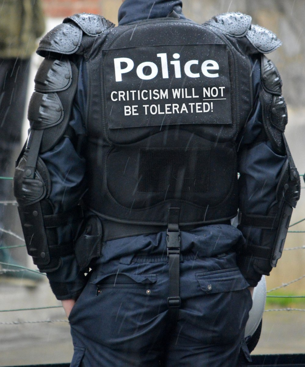 BREAKING—Local Police Union Calls for Purchase of Criticism-Proof Vests to Protect Fragile Officer Egos https://t.co/WvcvJchW9v