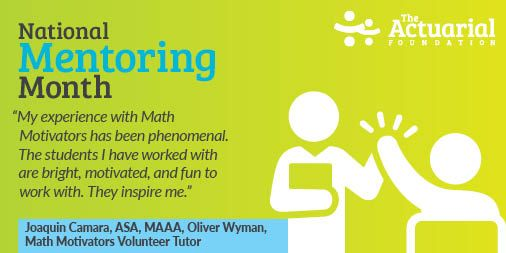 #NationalMentoringMonth is coming to a close, but our appreciation for all of our Math Motivators volunteer tutors is year-long! If you are interested in becoming a tutor or want to learn more about Math Motivators, visit . #tutoring #mathematics