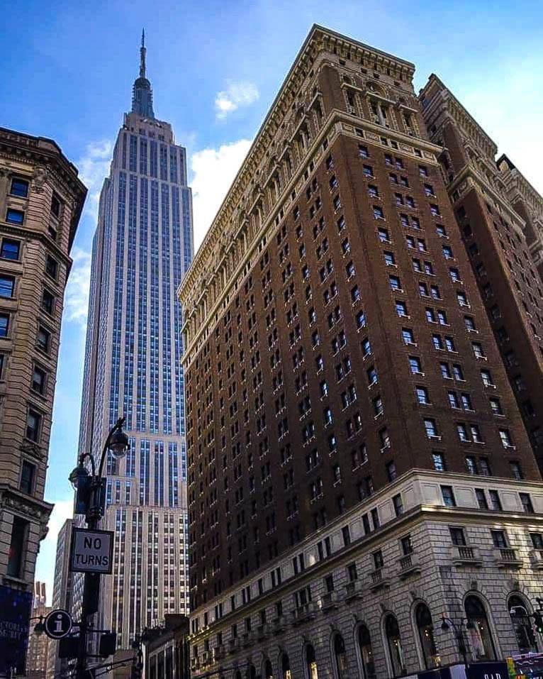 The Empire State Building #NewYorkCity #NewYork #NYC #EmpireStateBuilding #photography #cityphotography #photo #streetphotography #picture #PhotoOfTheDay @EmpireStateBldg