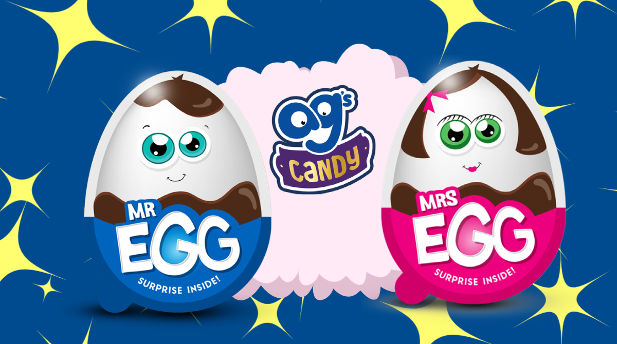 Enjoy our Mr and Mrs Egg! Get your delicious chocolate egg each with a surprise toy - Creating fun times for your little ones!  #gifted #agscandy #chocolate #snacktime  #homeschooling #invitationtoplay #parentingtips  #playbasedlearning  #playmatters #tuesdayvibe