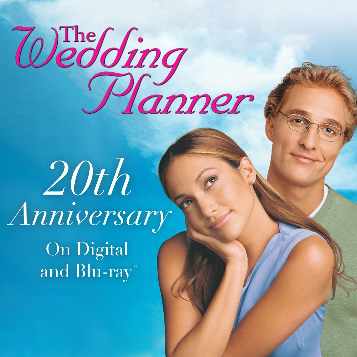 Love happens when you least expect it. 👩🏽❤️👨🏼 Celebrate the 20th anniversary of #TheWeddingPlanner by buying and watching today: