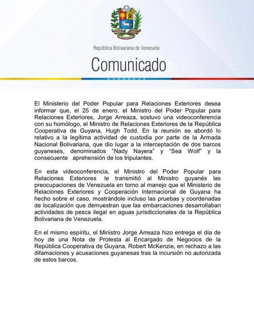 EL ESEQUIBO ES NUESTRO - Página 8 EsrWAqLW4AcLyBU?format=jpg&name=small