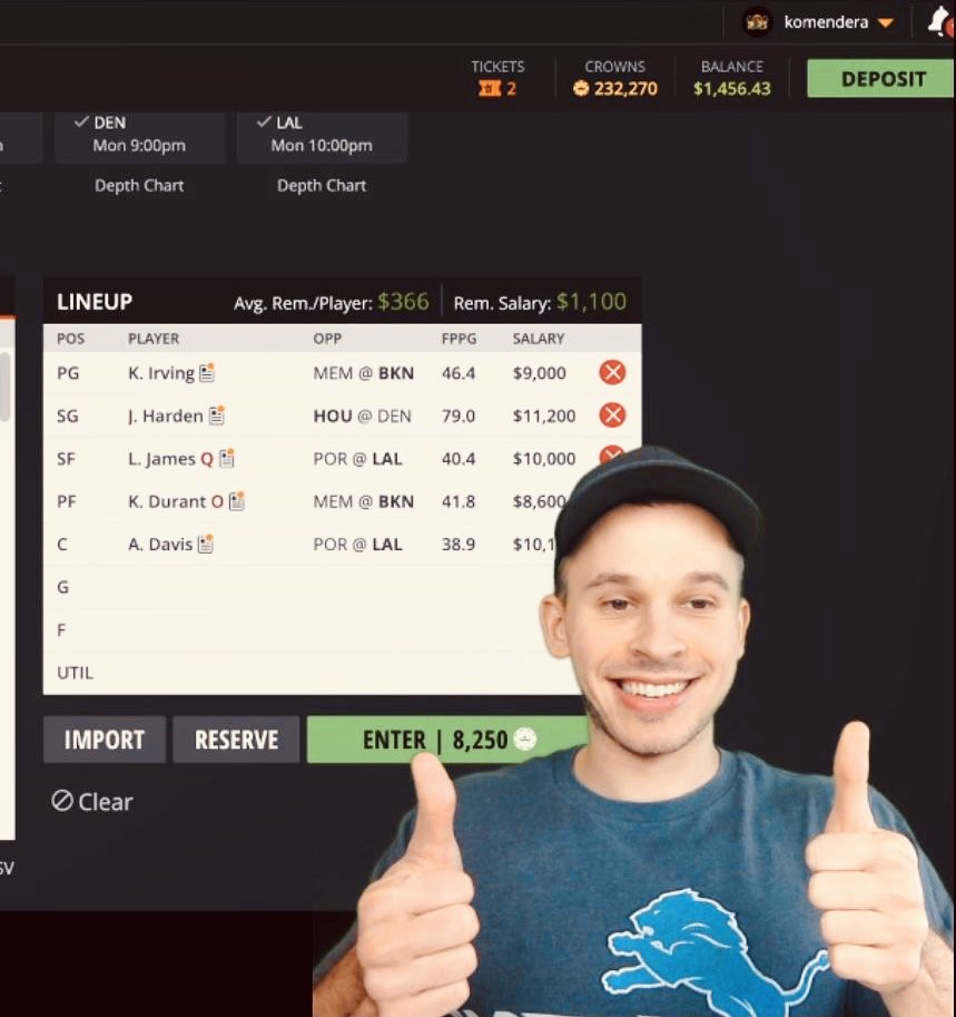 For you Sport Lovers our there! 🏀🏈 Check out my friend @DK__DFS @YouTube Channel. He specializes in #DraftKingsAnalysis of #NBA #NFL & #eSports. ➡️