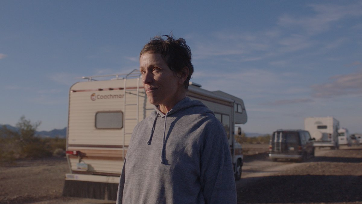 Congratulations to @Nomadlandfilm for receiving 5 @filmindependent #SpiritAwards nominations, including Best Feature, Best Director - Chloé Zhao, Best Female Lead - Frances McDormand, Best Editing, and Best Cinematography. Watch it on our screen Feb. 19: