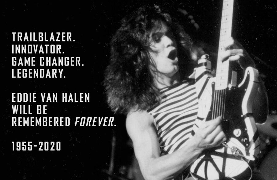 Thank you, Edward Van Halen!  #EddieVanHalen #GOAT #Legend #RIPEVH #RIPEddieVanHalen #VanHalen #ThankYou #Grateful #Love #Music https://t.co/IPbkM2Cf61