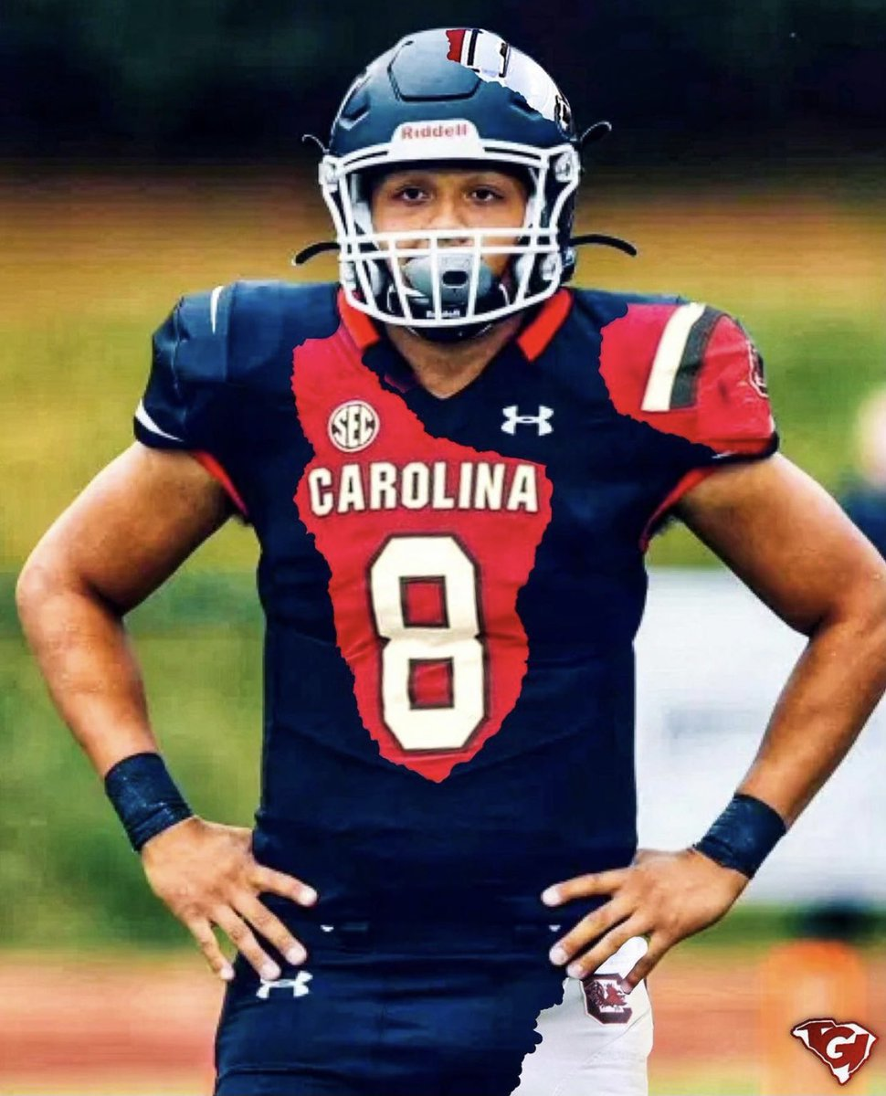 GLORY TO GOD!! Thank you to all the South Carolina coaches!!  Blessed! I'm COMMITTED to The University of South Carolina!! See you soon Columbia!   #SpursUp 🤙🏽