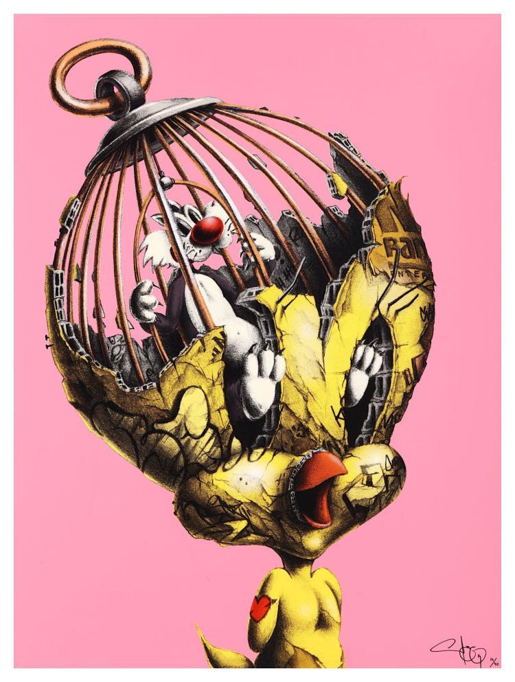 Pierre-Yves Riveau (PEZ) #SURREALISM #tweety #sylvester #fantastico #fantasyart