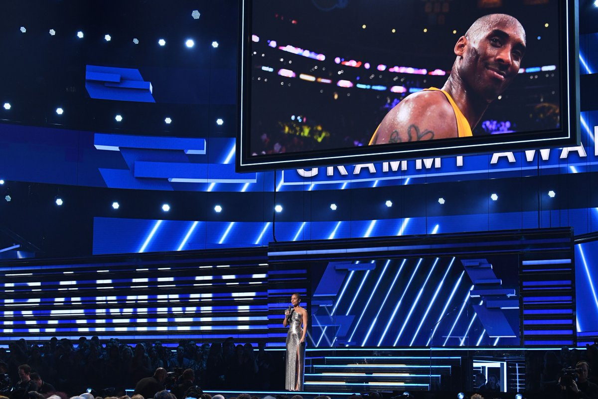 One year ago today, our #GRAMMYs host, #aliciakeys started the 62nd #GRAMMYAwards2020 addressing #KobeBryant's tragic death with grace, reminding all of us that we were in @StaplesCenterLA, the house that #Kobe built. #LucioStoppello #KobeForever