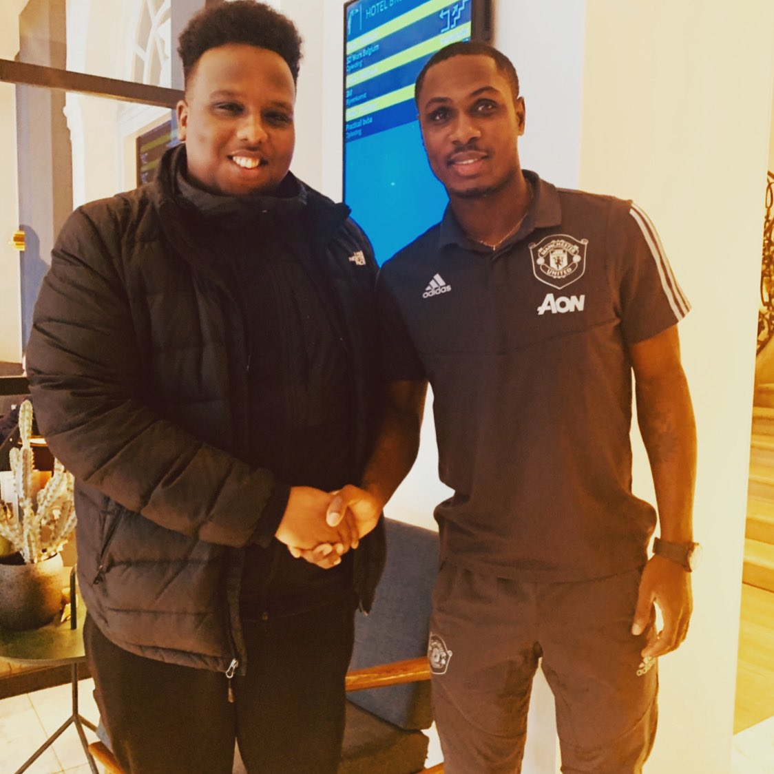 Replying to @Realist_187: Glad you made your dream come true. Good luck and all the best in the future @ighalojude 👏🏿🙏🏿