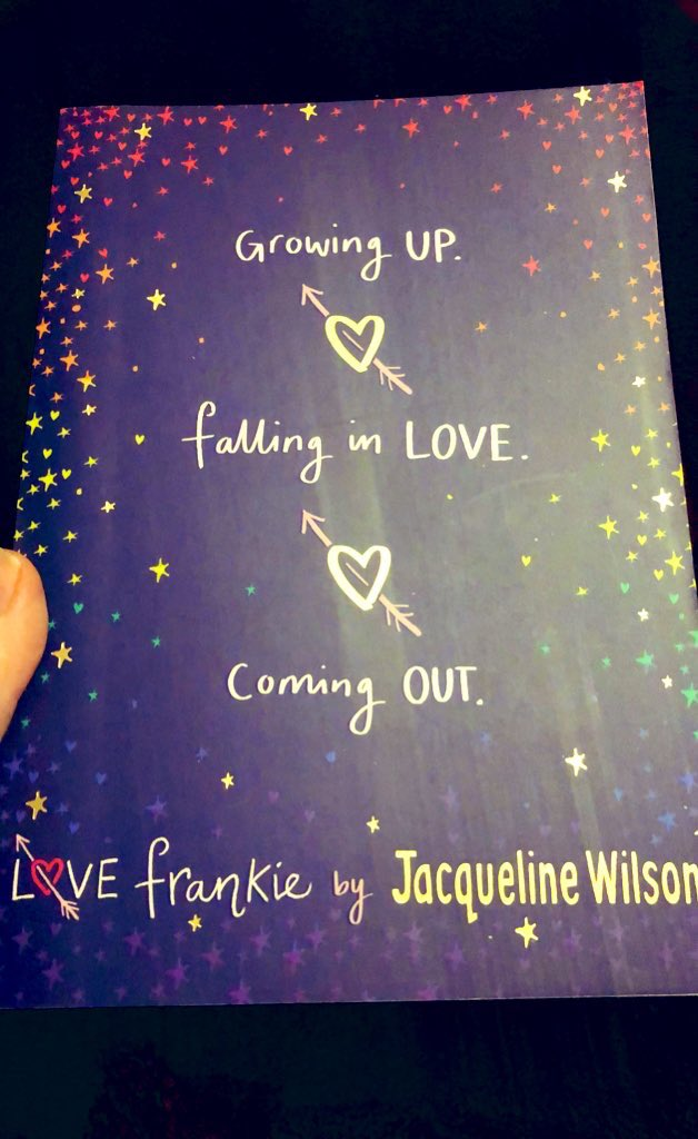 #11 Love Frankie  By @FansofJWilson  ⭐️⭐️⭐️⭐️⭐️ This was great, and I really didn't want it to end, but the ending itself was so frustrating! I need another Frankie story please!  @PuffinBooks @NickSharratt1 #LoveFrankie #notjustforkids #readingforpleasure