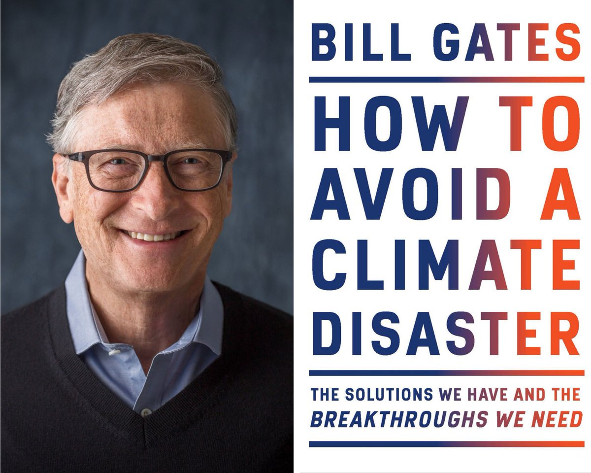 Feb. 19: Join Bill Gates as he discusses his new book, How to Avoid a Climate Disaster. Tickets available now:  @BillGates #climatechange @AAKnopf