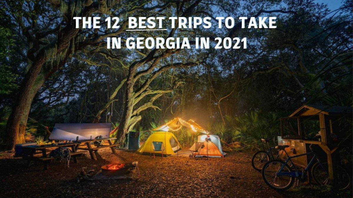 Today is National #PlanForVacation Day! Let's make this the year of new adventures. Here's 12 trips for you take this year in Georgia >>  #LetsMakePlans