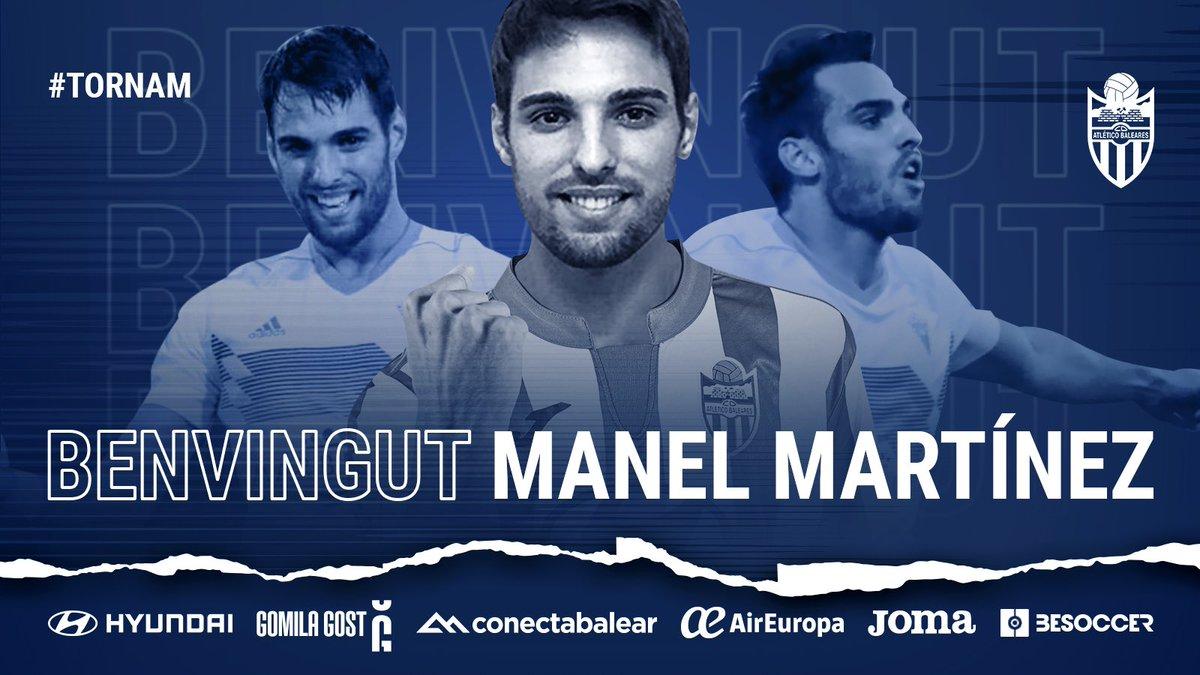 El ex delantero del @marbella_fc @Manelmb9 firma con el @atleticbalears con el que ya estuvo a punto de firmar en el mercado de verano