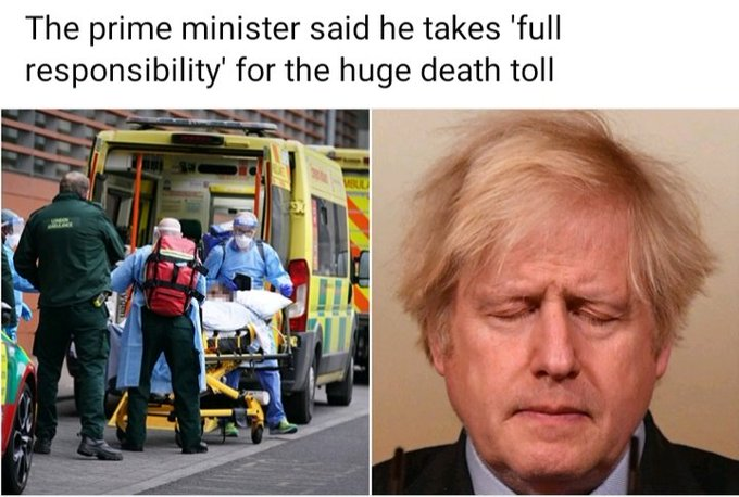 UK COVID-19 Death Toll Passes 100,000 Photo