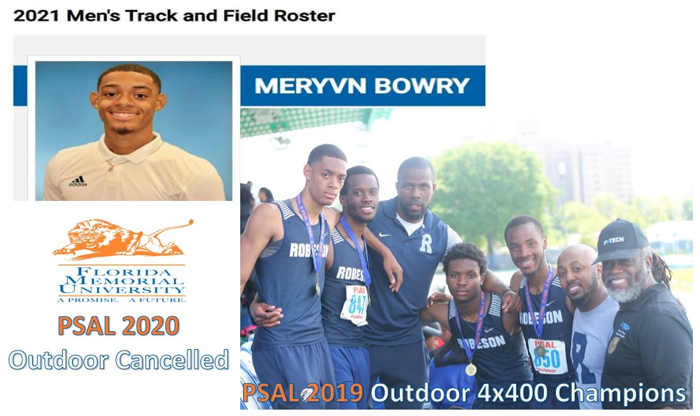 #wellnesswednesday #WednesdayMotivation #ptech #weareptech @rashidfdavis Can't wait to see Mervyn Bowry 2019 @nycpsal 4x400 Relay Champs debut indoor 2021 @GoFmuLions #COVID19 #Covid_19 #COVID #cancelled Spring 2020 Season @MileSplitNY @ArmoryNYC @NYCSchools @OEAnyc