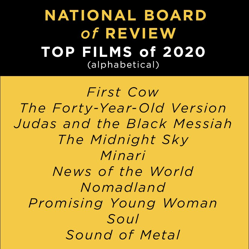 Thanks to @NBRfilm for naming #JudasAndTheBlackMessiah one of the Top 10 Films of 2020! #NBRawards #NBRtop10 #FYC
