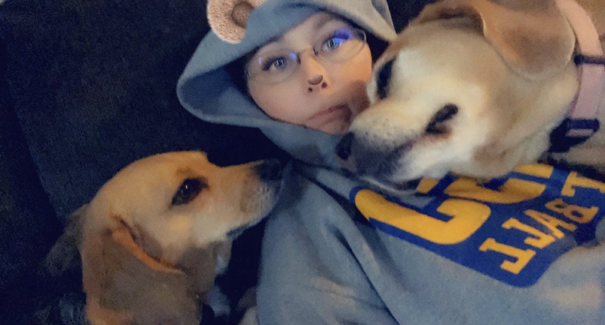 When I feel like crap, these dogs have no sense of personal space. #dogs #fever_fever #tuesdayvibe #cancersurvivor