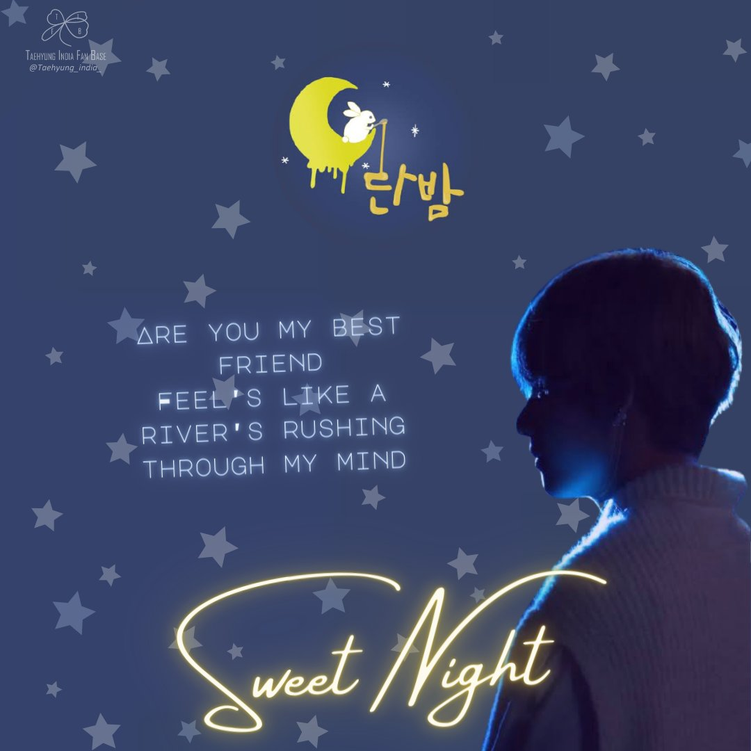 A perfect lullaby for the soul,  Perhaps the reason is Kim Taehyung's healing voice, that the song has been loved worldwide 💜✨ #SweetNight100M  A truly deserved accomplishment for all the sullen souls the song has healed. ✨100 MILLION SWEET NIGHTS and many more to come  #BTSV