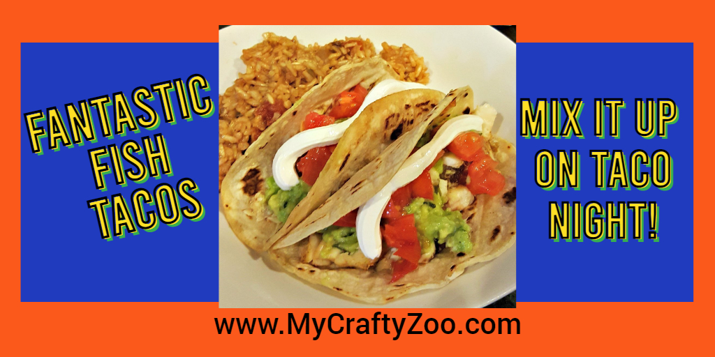 #Healthy spin on #TacoTuesday this week! Try our fish taco #recipe! A great, low calorie boost of nutrition!  #dallopofdaisy #family #dinner