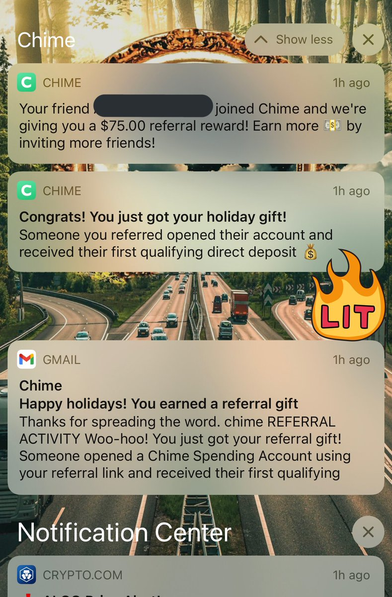 🎁 @Chime referral holiday gift received!  Woohoo 🙌🏻 🔥  It's so easy to open a Chime spending account 🏦  😎  #RETWEEET #LikeForLikes #tuesdayvibe #COVID19 #DubNation #love #MAGA #ad #JoeBiden #quotes