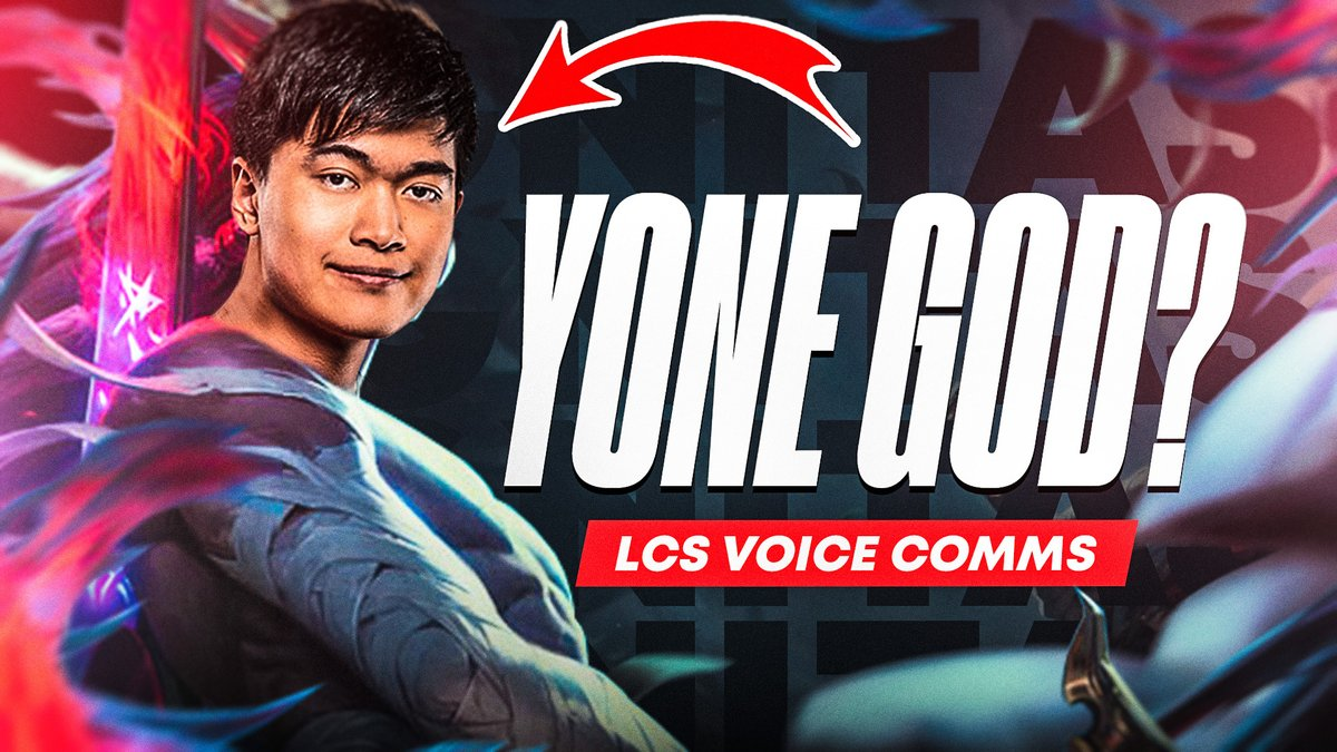 Is @Soligoms the best Yone in the LCS? 🤔