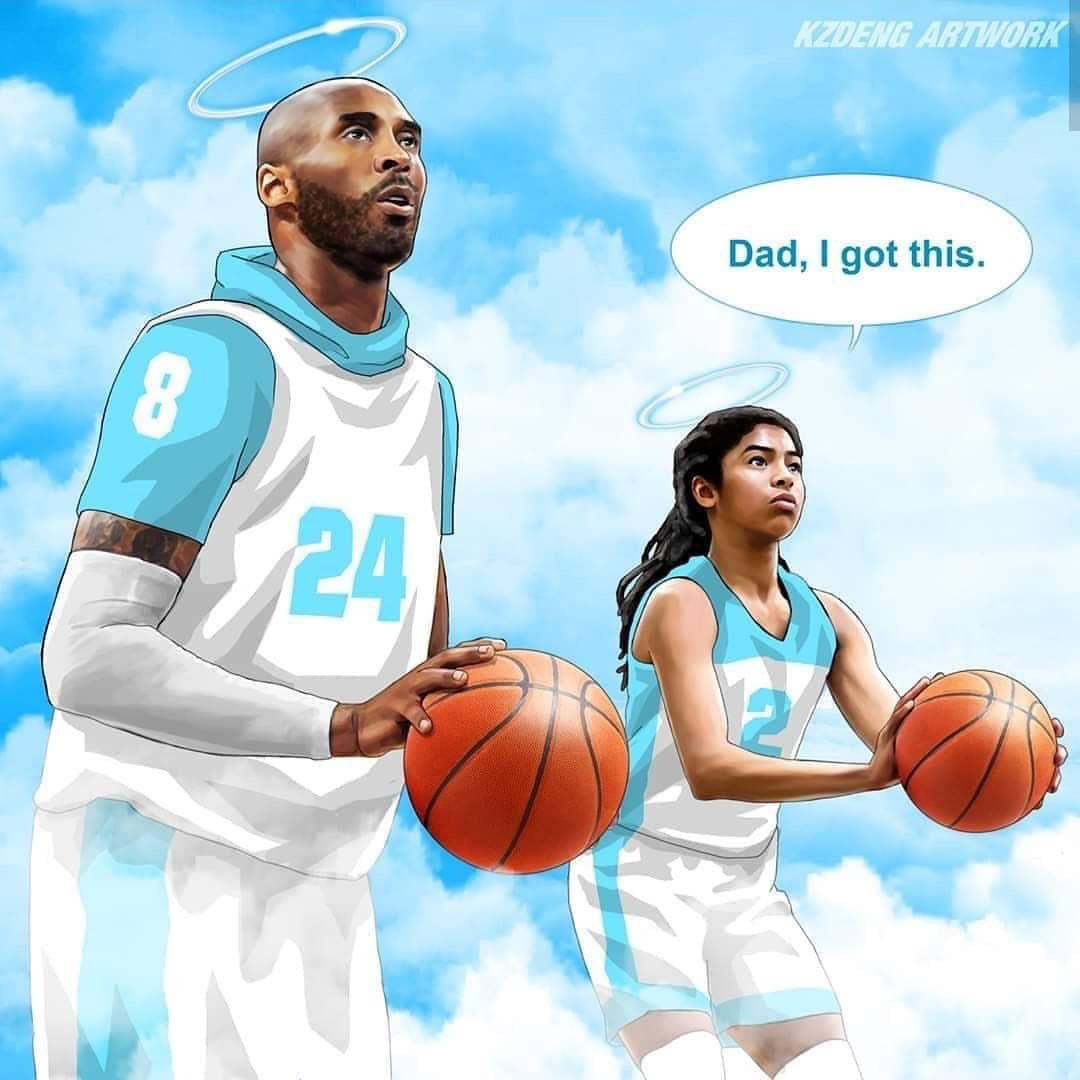 May you, Gianna & the 7 others continue to sleep in peace! Rest Peacefully Kobe Bryant! 💜💛#MambaForever #MambaOut