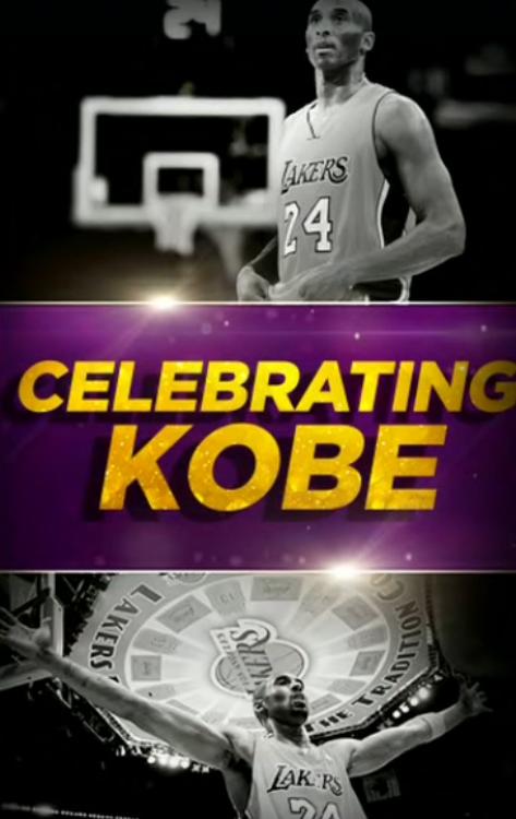 """""""There has never been anyone like Kobe Bean"""" - @Rachel__Nichols   #NBA #NBATwitter #TheJump #LakeShow #MambaForever"""