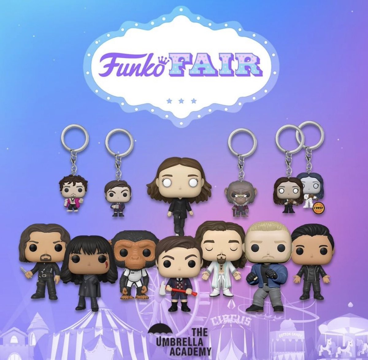 Pre order now on @zavvi  Use code ACCUSTOMS for free shipping  ✅ Pre Order Here ⬇️   #theumbrellaacademy #umbrellaacademy #funko #funkopopvinyl #funkonews #funkoeurope #funkofair #netflix