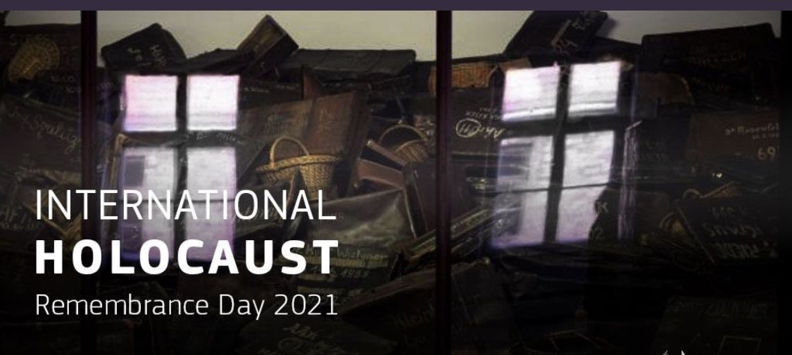Wed. 27/3 marks the International Day of Commemoration in memory of the victims of the Holocaust.  #LestWeForget