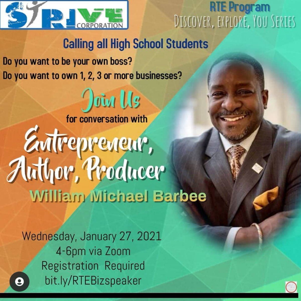 Do you know or have a high school student? If so this would be for them!!  ..How many of you want to be your own boss? Maybe even own 1 or multiple businesses?? Well, stay tuned for this exciting opportunity with@strivecares   #togetherstriveforsuccess🔥 #striveforgreatness
