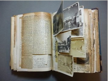 If you missed this then you missed THIS - @DrRespers talking about the Eric Dingwall collection @SenateHouseLib, featuring these incredible indexed, scrapbooked bibles, stuffed & thickened with pasted in cuttings on sexuality and the paranormal twitter.com/pykelets/statu…
