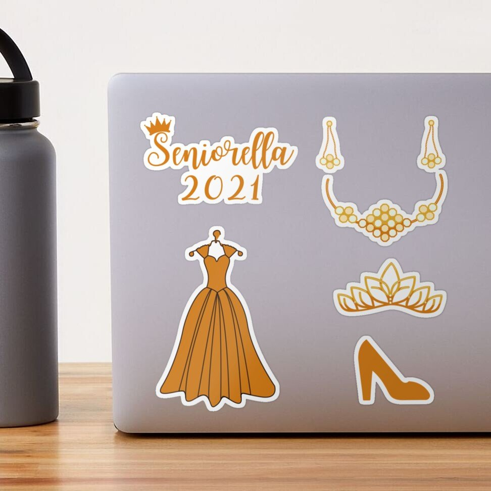 Seniorella 2021 Pack Sticker #Stickers  #Stickers #StickerGift #Senior #seniorella #GradStudent #graduation #year2021  #MambaForever #tuesdayvibe #UltimatePlay #Kobe #USA #shopping #Queens