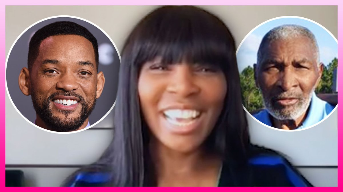.@Venuseswilliams Talks Will Smith Playing Her Dad In 'King Richard' Film  WATCH:   #KellyClarksonShow