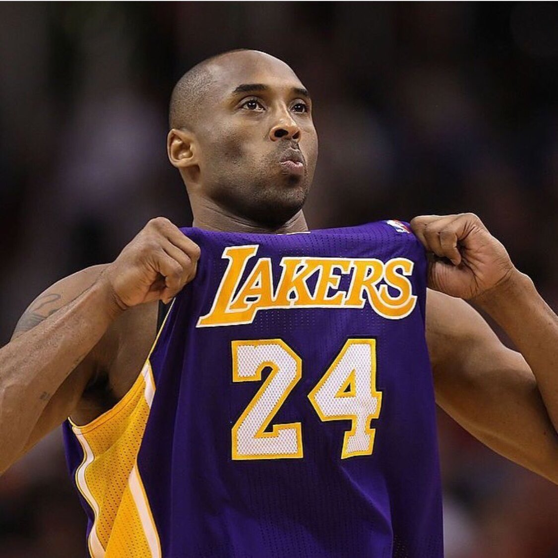 I still say why You of all the Ugly Badd Ppl alive in this World Why You 😞😓😓😓I Miss You KOBE ADORED YOU LOVE 💜💛💜💛💜💛 #MambaForever