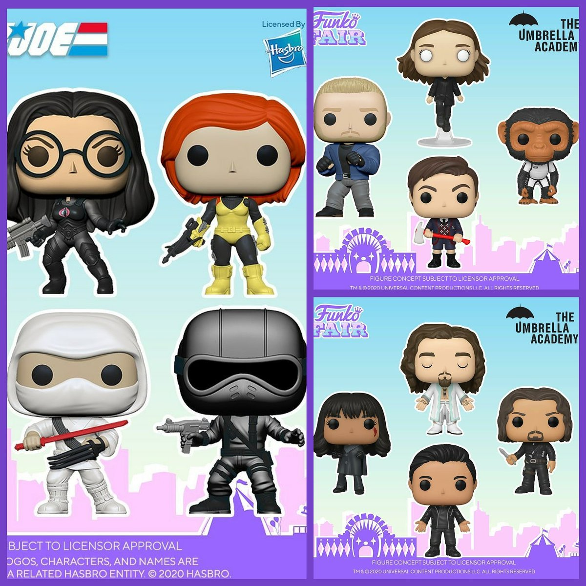G.i. Joe & Umbrella Academy are available for preorder at @circlecitytoys At a great price! Plus use code Serlent10 for 10% off   . #Funko #Pop #FunkoPop #toys #popvinyls #funko #funkophotoa #serlentpops #serlent