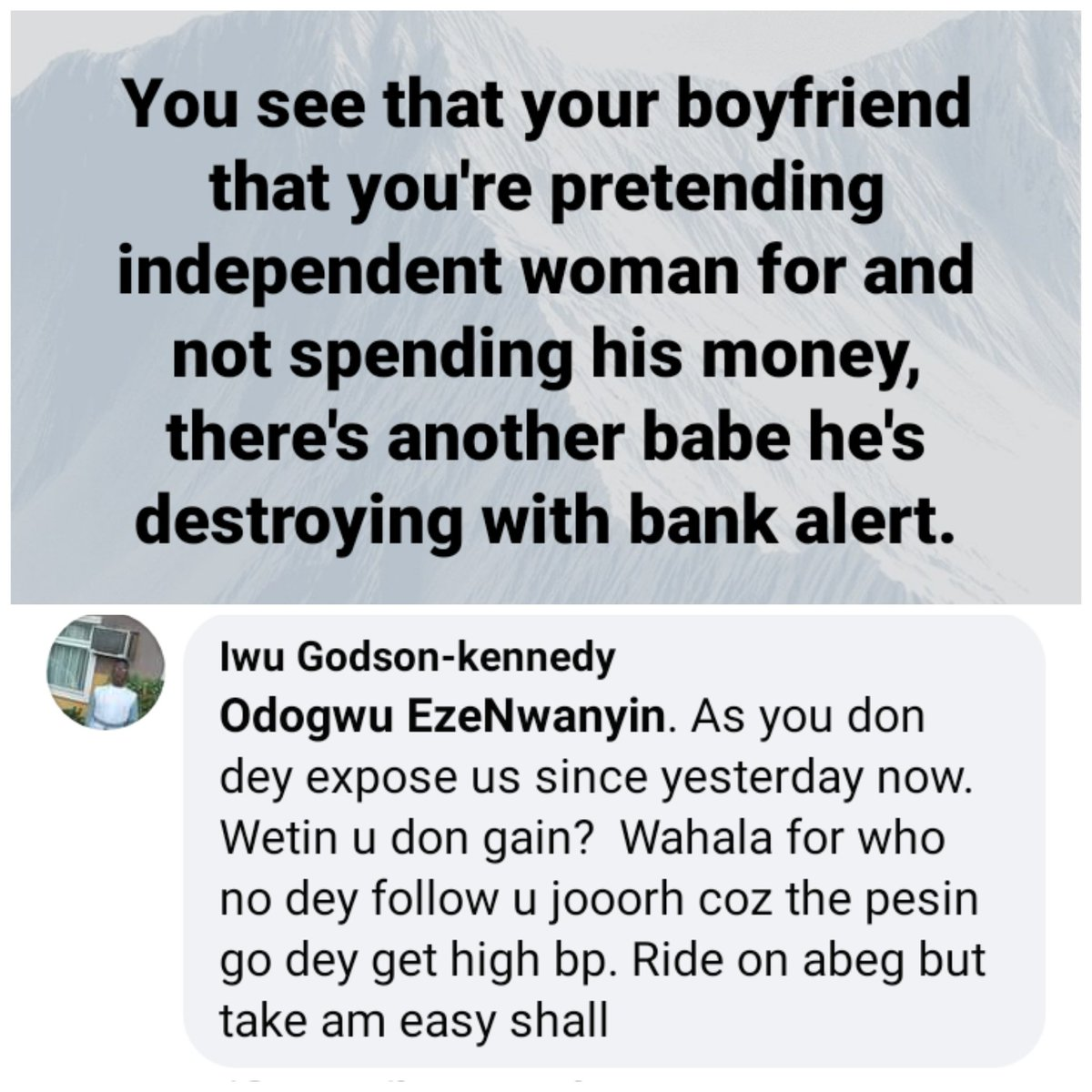 #NigerianArmy #Burnaboy #tuesdayvibe #topface2021 #COVID19 #HolocaustMemorialDay  Better be wise and don't be doing stupid.